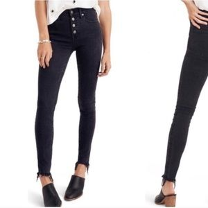Madewell 9 inch high rise skinny jeans 23 new